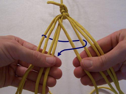 T  J  Potter, Sling Maker - Instructions for an 8-strand